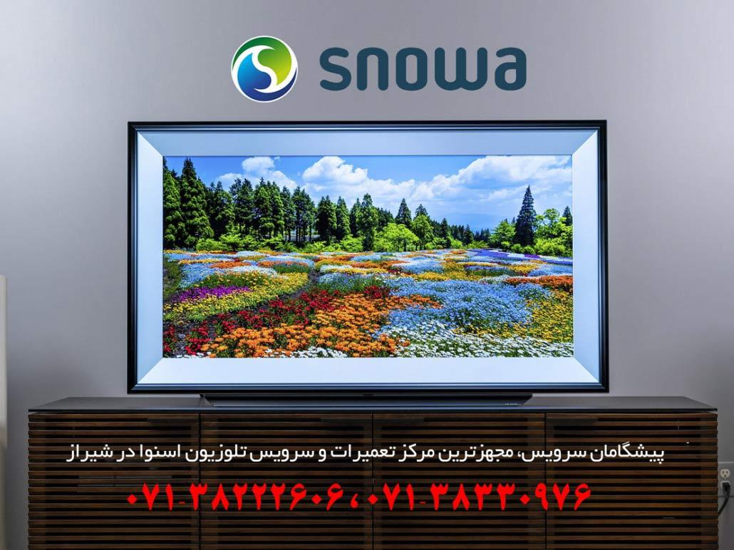 نمایندگی تعمیرات تلویزیون اسنوا در شیراز